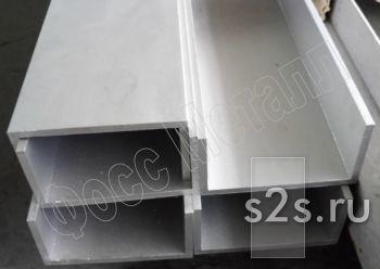 Швеллер нержавеющий горячекатаный AISI 304  30х15х4.0