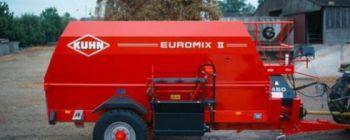 Измельчители-раздатчики грубых кормов фирмы Евромикс