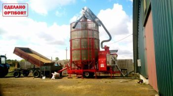 Мобильная зерносушилка OPTISORT TKM 25