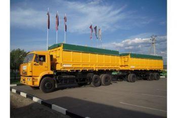 Автомобили Камаз: зерновозы, автопоезда, бортовые, самосвалы