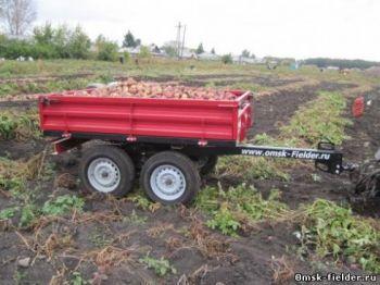 Прицеп для мини-трактора SP-01