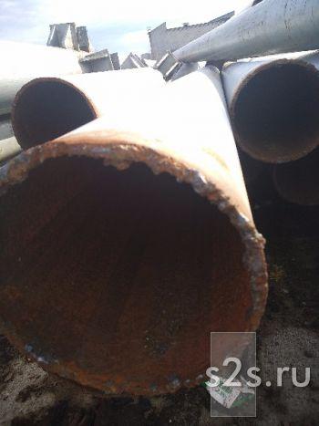 Труба ф219х6мм,Состояние- б/у, чистая без изоляции, без раковин.