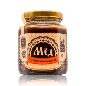 Мёд натуральный с Прополисом
