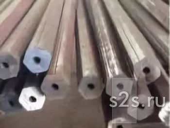 Буровой шестигранник 22 мм, отверстие 6,5мм, ТУ 14-1-681-73