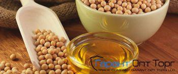 Соевое растительное масло от производителя (гидр. и рафдез.)