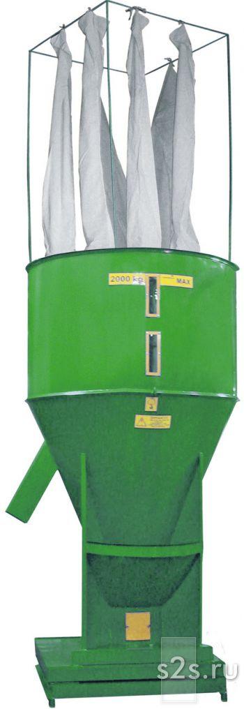 Смеситель кормов (зерна) вертикальный шнековый СВ-1,7Ш
