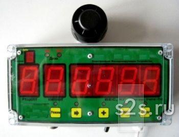 Весы тензометрические электронные с памятью рецептов и компонентов корма