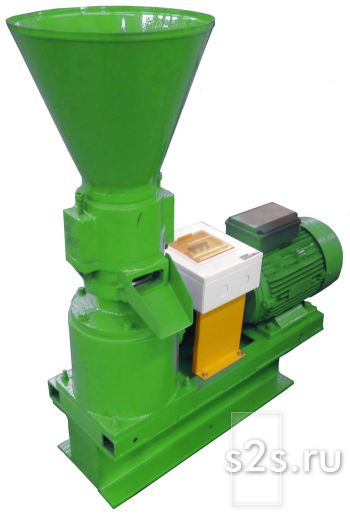 Мини пресс-гранулятор с плоской матрицей ГПМ-230