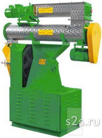 Пресс-гранулятор кормов с кольцевой матрицей ГКМ-320К(М)