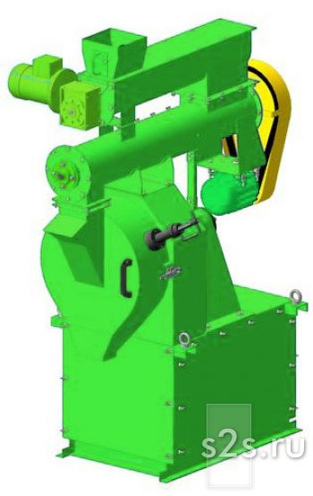 Гранулятор кормов кольцевой промышленный ГКМ-250К
