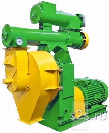 Промышленный гранулятор с кольцевой матрицей универсальный ГКУ-132