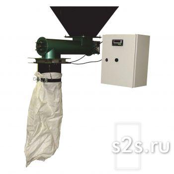 Весовой дозатор (фасовщик) сыпучих продуктов с механическим зажимом шнекового типа