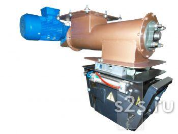 Тензометрический весовой дозатор компонентов с пневмозажимом шнековый
