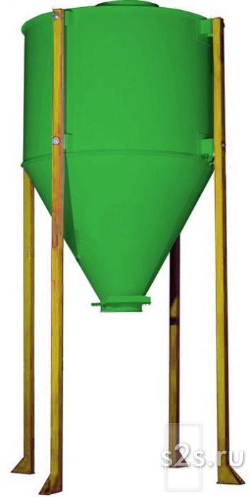 Силос (бункер) для сыпучей продукции (зерно, комбикорм) БСП-10