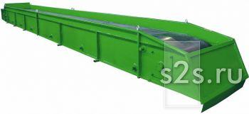 Транспортер ленточный для перегрузки сыпучих материалов КЛ-500-10
