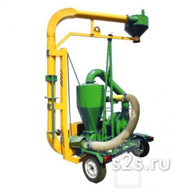 Пневматический транспортер зерна ППС-20 (ВОМ)