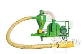 Пневматический транспортер зерна ППС-6