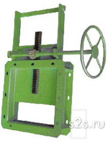 Реечная задвижка ЗР-350 (шиберный затвор)
