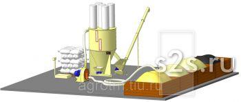 Цех для комбикорма (мини завод) АТМ-1,5