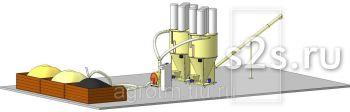 Комбикормовый цех (завод) АТМ-5