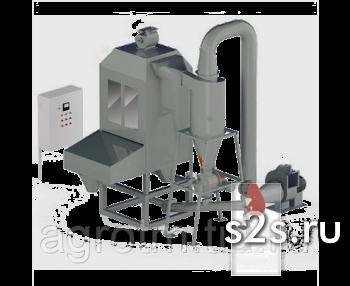 Колонна охлаждения гранул автоматическая ОГА-3