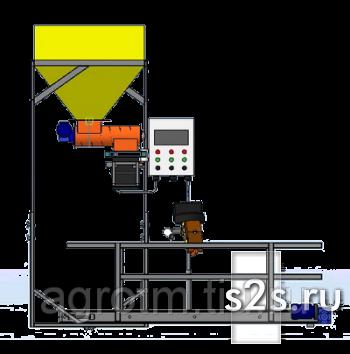 Фасовочно-упаковочный полуавтомат шнекового типа