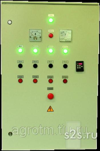 Щит управления для пресс-гранулятора 45 квт (+2,2+0,75 кВт)