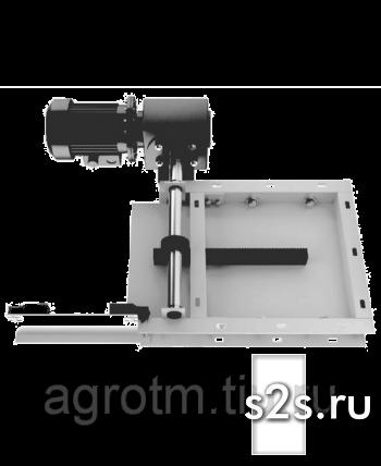 Задвижка реечная с приводом ЗРЭ-300
