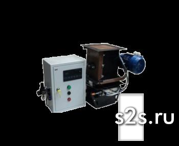 Весовой дозатор компонентов с пневмозажимом шлюзовый