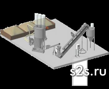 Линия гранулирования КГ-0,6 мини