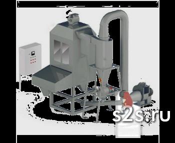 Охладитель гранул автоматический противоточный ОГА-1,5