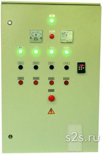 Пульт управления для гранулятора 55 кВт (+2,2+0,75 кВт)