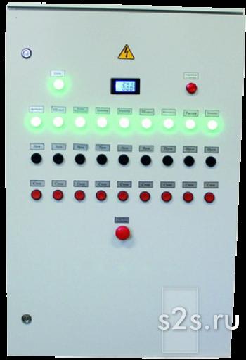 Шкаф управления линии гранулирования