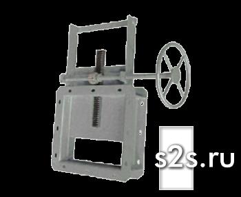 Задвижка реечная ручная ЗР-200