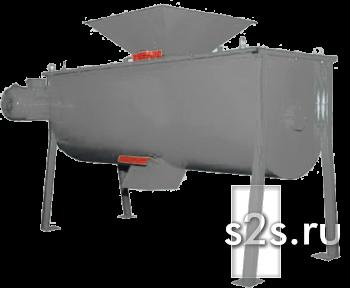 Смеситель горизонтальный лопастной СГО-4