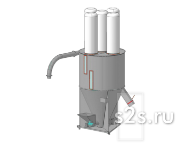 Смеситель шнековый СВ-3,7Ш
