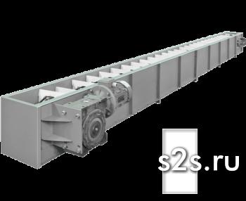 Конвейер цепной скребковый КЦС-300-4