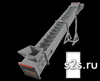 Конвейер ленточно-скребковый КЛС-300-8