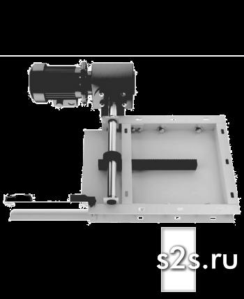 Задвижка реечная с приводом ЗРЭ-200