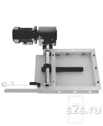 Задвижка реечная электрическая ЗРЭ-400