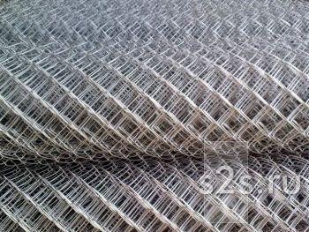 Сетка-рабица 35х35 (ПВХ) рулон 1,25х10