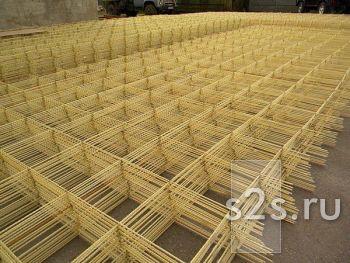 Сетка кладочная стеклокомпозитная 100х100х2,5 (1,2м - 10м)