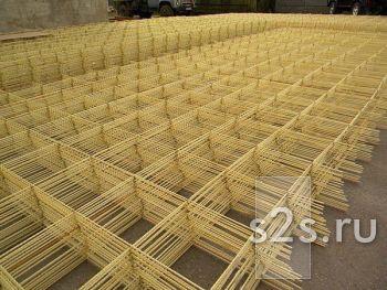 Сетка кладочная стеклокомпозитная 100х100х2,5 (1,2м х 50м)