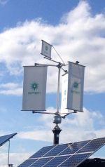 Ветрогенератор - вертикальный, MVE SIMETI 5000, 5 кВт